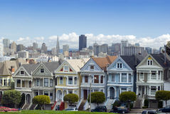 Alamo Square San Francisco Royalty Free Stock Photo