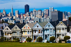 Alamo Square in San Francisco royalty free stock images