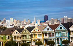 Alamo Square San Francisco California royalty free stock images