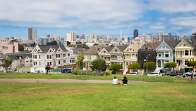 Alamo Square in San Francisco Royalty Free Stock Image