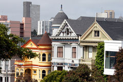 Alamo Square, San Francisco Stock Photography