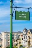 Alamo Square in San Francisco Stock Photos