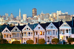 Alamo Square - San Francisco, USA Stock Photo
