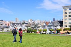 Alamo Square, San Francisco Royalty Free Stock Images