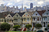 Alamo Square Royalty Free Stock Photography
