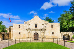 The Alamo in Texas. The Alamo in San Antonio, Texas, USA royalty free stock photos