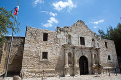 The Alamo Texas. The Alamo in San Antonio, Texas, where the famous battle for Texas independence against Mexico took place in 1836 Royalty Free Stock Photos