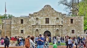 Alamo Tourism HDR Stock Image