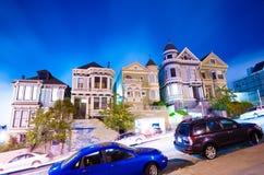 Alamo Vierkant - San Francisco Royalty-vrije Stock Afbeelding