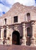 Alamoen, San Antonio, Texas. royaltyfri bild
