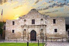 Alamoen, San Antonio, TX Arkivbilder