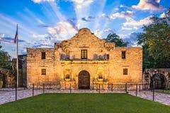 Alamoen, Texas Arkivbild