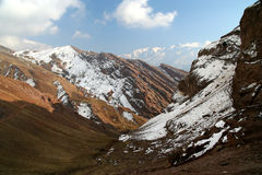 Alamut mountains Stock Photography