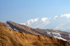 Alamut mountains Stock Photography