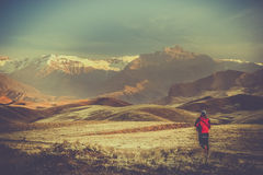 Alamut mountains Stock Images