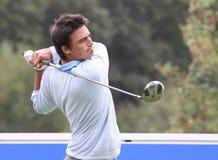 Alan Bihan bij het Golf Open DE Parijs 2009 Stock Fotografie
