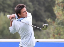 Alan Bihan at the Golf Open de Paris 2009 Stock Photography
