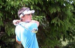 Alan Bihans en el golf Prevens Trpohee 2009 Imágenes de archivo libres de regalías