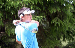 Alan Bihans no golfe Prevens Trpohee 2009 Imagens de Stock Royalty Free
