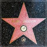 Alan Jackson's star on Hollywood Walk of Fame Stock Image