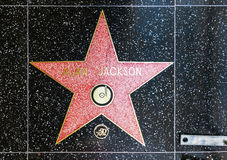 Alan Jackson's star on Hollywood Walk of Fame Royalty Free Stock Photos