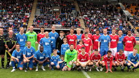 Alan Main Testimonial Match. Royalty Free Stock Images