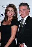 Alan Thicke and wife Tanya at the 27th Anniversary Of Sports Spectacular, Century Plaza, Century City, CA 05-20-12 Stock Images