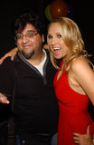 Alana Curry, Albert Ortega. Albert Ortega and Alana Curry at the birthday party for Alana Curry. Next Door Tapas Lounge, Studio City, CA. 05-02-07 Royalty Free Stock Image