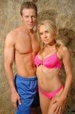 Alana Curry Fitness Shoot Royalty Free Stock Photo