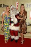 Alana Curry, Katie Lohmann. Alana Curry and Katie Lohmann at the Remember To Give Holiday Party hosted by L.A. Direct Magazine, E! Network and Ronald McDonald royalty free stock images