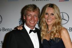 Alana Stewart,Nigel Lythgoe Royalty Free Stock Photos