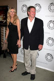 Alana Stewart,Ryan O'Neal Royalty Free Stock Photos