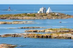 Aland海岛, Kobba Klintar 免版税库存图片