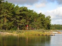Aland Archipelago. Summer day in Quiet Nagu Island.Finland Stock Photo