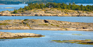Aland archipelago in Finland. Royalty Free Stock Images