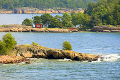 Aland archipelago in summer Royalty Free Stock Photos