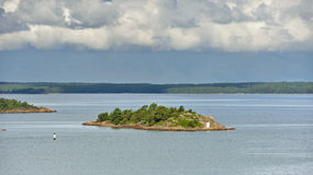 Aland Island in Baltic Sea Royalty Free Stock Photography