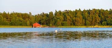 Aland wyspy, Finlandia Fotografia Stock