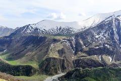 alania高加索联邦山北ossetia俄语 免版税库存照片