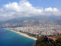 Alania bay in mediterranean sea Royalty Free Stock Images