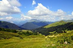 alania Caucasus osetii północnej góry federacji rosyjskiej zdjęcia stock