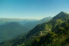 alania Caucasus osetii północnej góry federacji rosyjskiej Zdjęcia Royalty Free