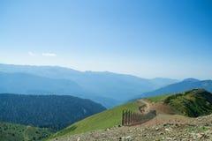 alania Caucasus osetii północnej góry federacji rosyjskiej Fotografia Royalty Free