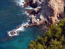 Alania fjärd i det medelhavs- havet Royaltyfria Bilder