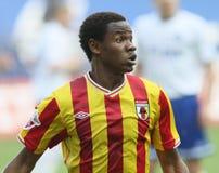 Alania's defender Abdoul-Gafar Mamah Royalty Free Stock Photos