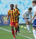 Alania's defender Abdoul-Gafar Mamah Royalty Free Stock Photography