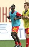 Alania's midfielder Dakosta Akes Gur Stock Image
