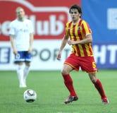 Alania's midfielder George Floresku Royalty Free Stock Image