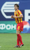Alania's midfielder George Floresku Stock Photos