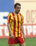 Alania's midfielder Ivan Stojanov Royalty Free Stock Photo